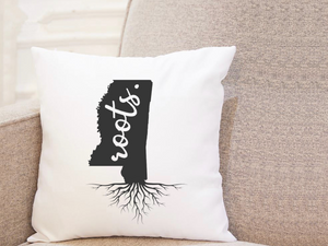 State Roots - Mississippi - Pillow