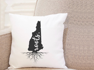 State Roots - New Hampshire - Pillow