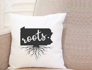 State Roots - Pennsylvania - Pillow