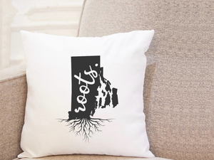 State Roots - Rhode Island - Pillow