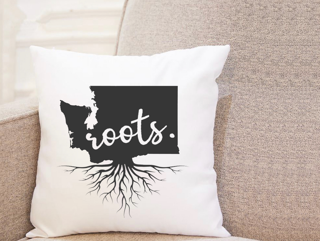 State Roots - Washington - Pillow