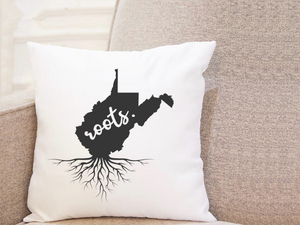State Roots - West Virginia - Pillow