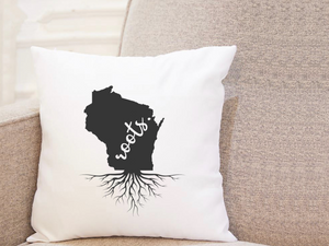 State Roots - Wisconsin - Pillow