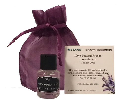 Grasse Lavender Oil - by Mane & Crafting Beauty - La Parfumerie de France