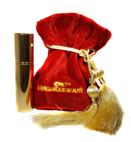 L'arganique Beauté - Refillable Gold Purse Spray - La Parfumerie de France