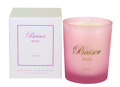 Signature Candle Baiser ROSE - La Parfumerie de France