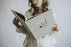 Heirloom Book 30x30cm with Vellum Pages