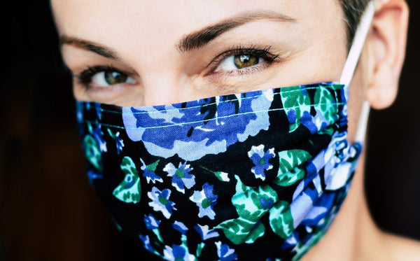HOW WEARING A PROTECTIVE MASK CAN STRESS OUT YOUR SKIN.