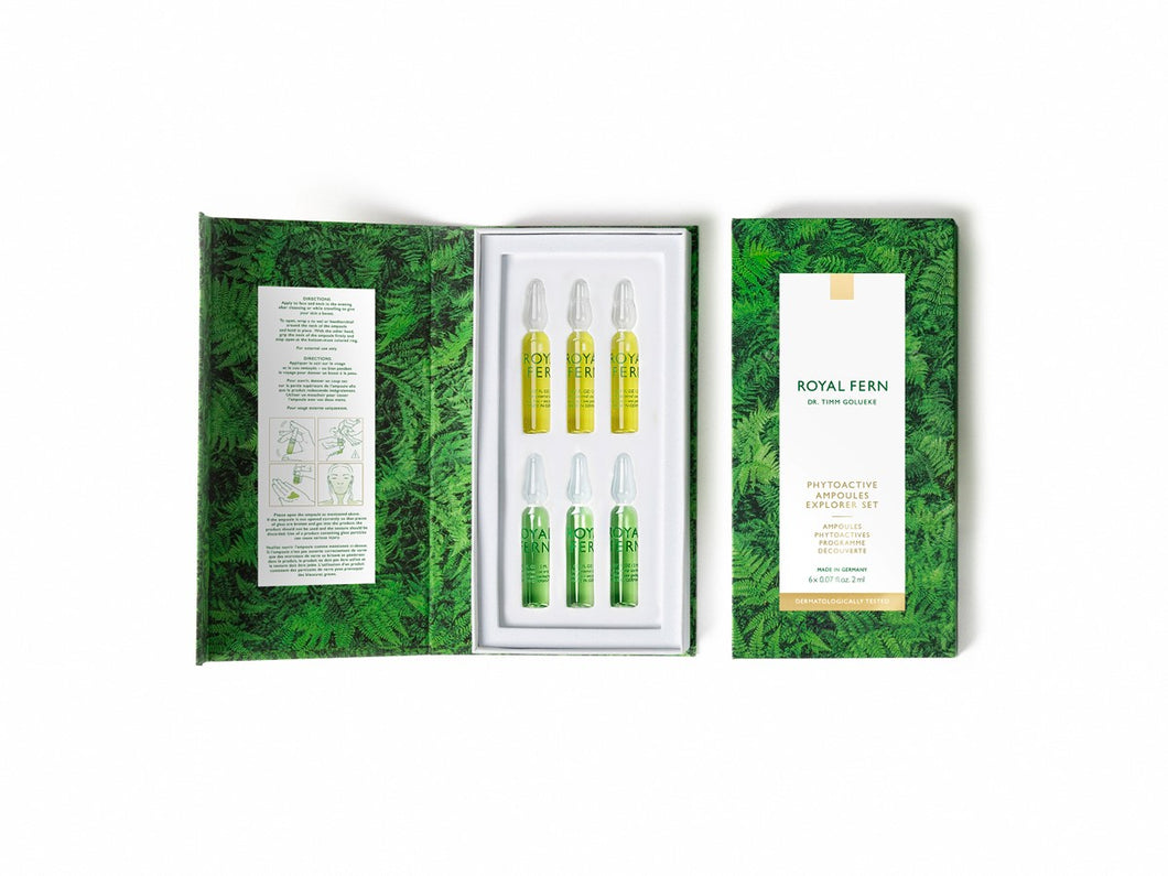 Phytoactive Ampoules Explorer Set