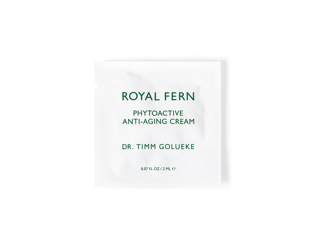 Sample Phytoactive Anti-Aging Cream