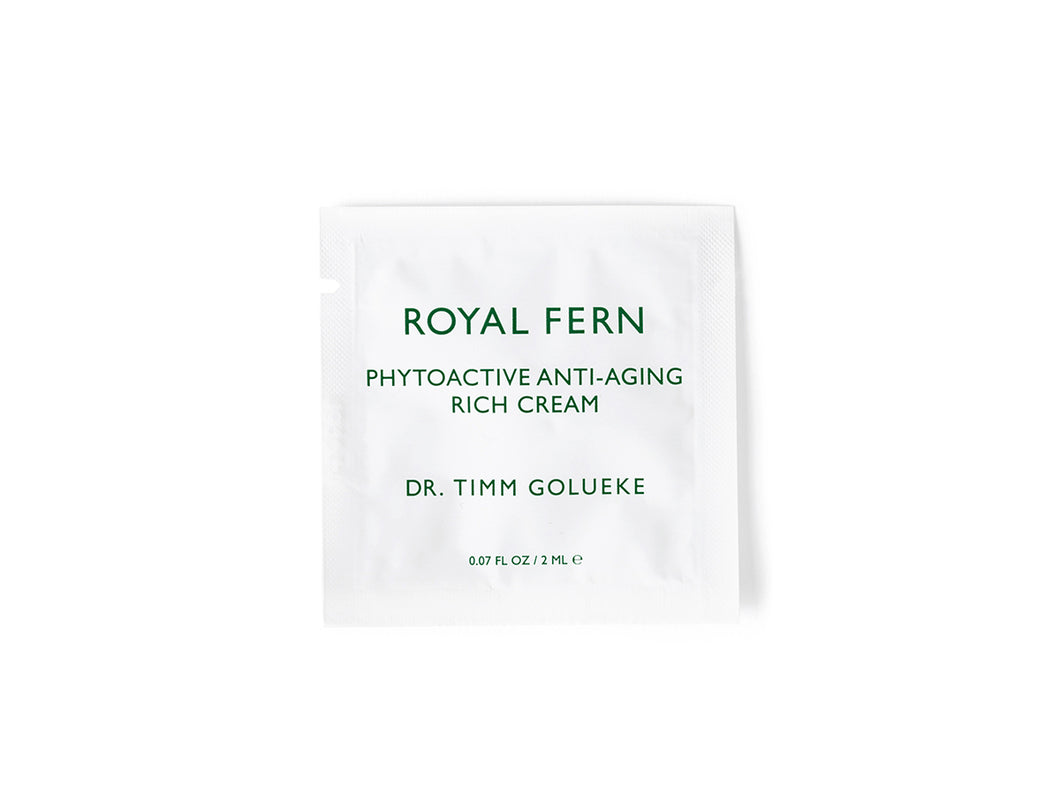 Sample Phytoactive Anti-Aging Rich Cream
