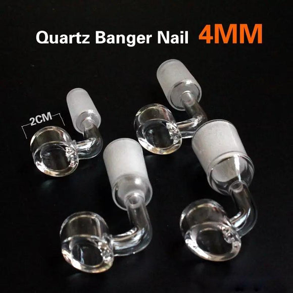 🔥 💨  Nail 90 Degree Male Female Quartz Nail for Oil Rigs Glass Hookah Water Pipse Glass Pipes B0ng - Dope Smokes [variant_title], [option1],