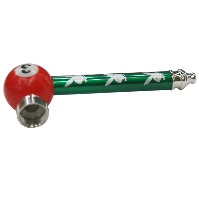 Pool Ball Metal Pipe Portable - Dope Smokes Quality Cannabis Products
