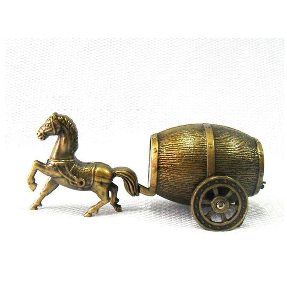 🔥 💨  Mini Horse Carriage Refillable Butane Collectors Lighter - Dope Smokes [variant_title], [option1],