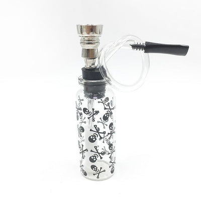 Smoking Mini Bubbler Clear Glass Weed Pipe - Dope Smokes Quality Cannabis Products
