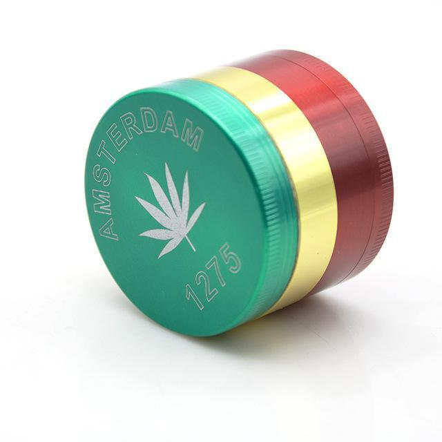 1PCS Unigue Laser Engraved Herb Grinder - Dope Smokes Quality Cannabis Products