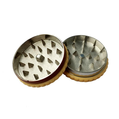 Biscuit dry herb Accessories Dual Layer Cookie / Biscuit Grinder