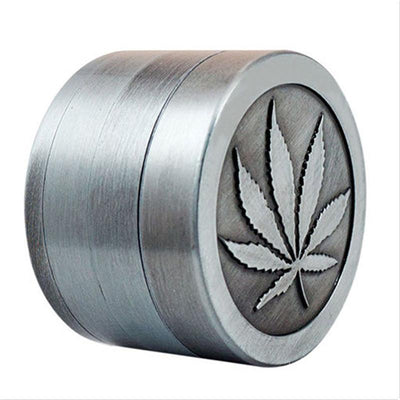 Mini Spice and Herb Pot Leaf Grinder - Dope Smokes Quality Cannabis Products