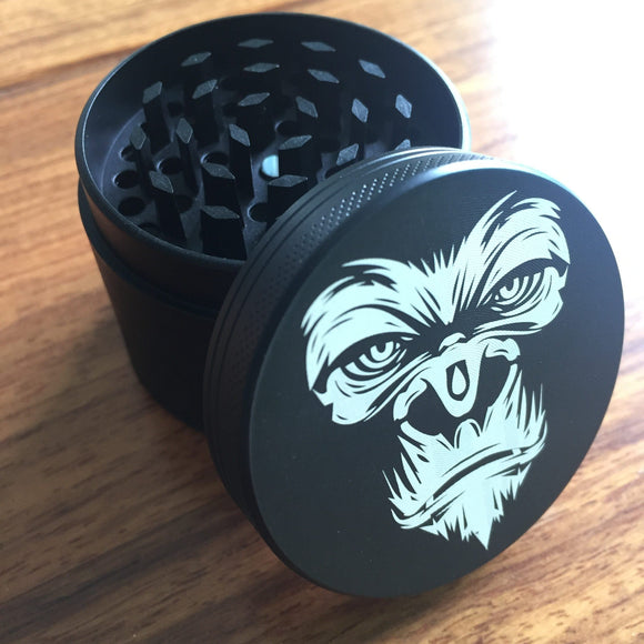 🔥 💨  4Layer 50mm Herb Gorilla Spice Grass Grinder - Dope Smokes [variant_title], [option1],