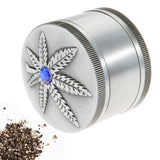 🔥 💨  3 Layer  Leaf Pattern Herbal Grinder - Dope Smokes [variant_title], [option1],