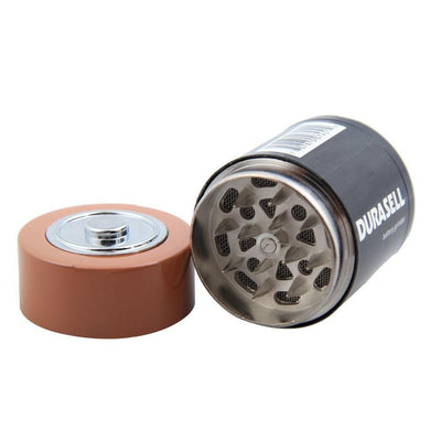 🔥 💨  Battery Shaped Herbal Tobacco and Spice Incognito Grinder - Dope Smokes [variant_title], [option1],