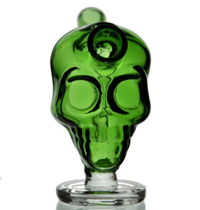 🔥 💨  Mini Green Skull Cigarrette Joint Bubbler Smoking Water Bubbler - Dope Smokes [variant_title], [option1],