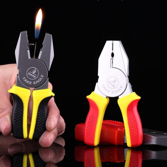 🔥 💨  Portable Mini Pliers Tool Shape Gas Lighter - Dope Smokes [variant_title], [option1],
