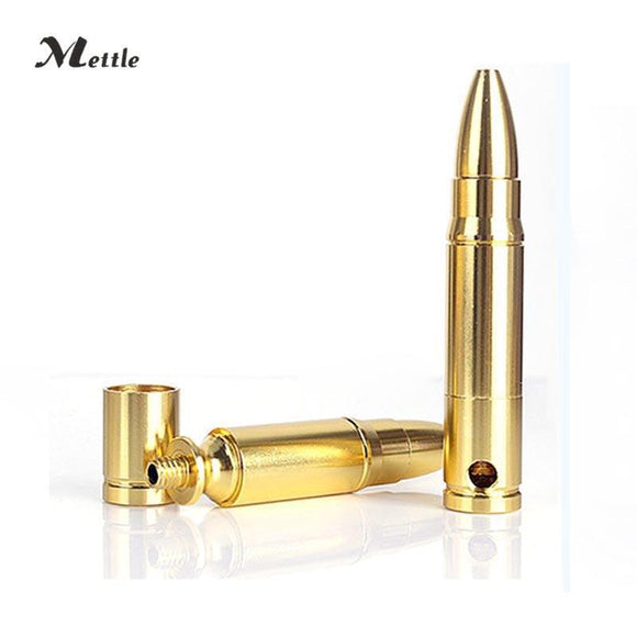 🔥 💨  1PCS Steel Removable Replica Bullet Ammunition Tobacco Pipes - Dope Smokes [variant_title], [option1],