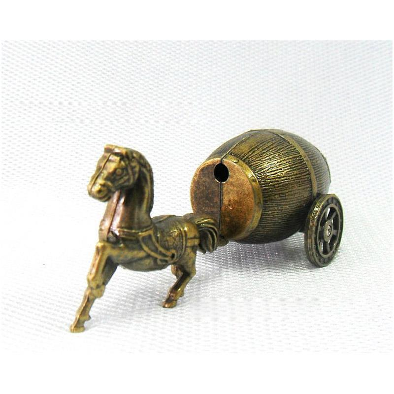 Mini Horse Carriage Refillable Butane Collectors Lighter - Dope Smokes Quality Cannabis Products