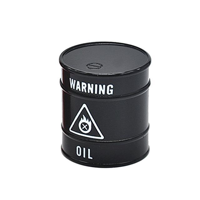 WARNING Oil Drum Herb 40MM 3 Tier Shark Teeth Grinder - Dope Smokes Quality Cannabis Products