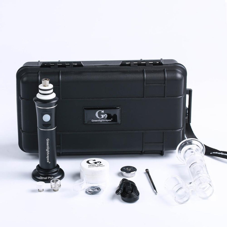 Greenlight vapes G9 Plus Portable Wax Dab Rig - Dope Smokes Quality Cannabis Products