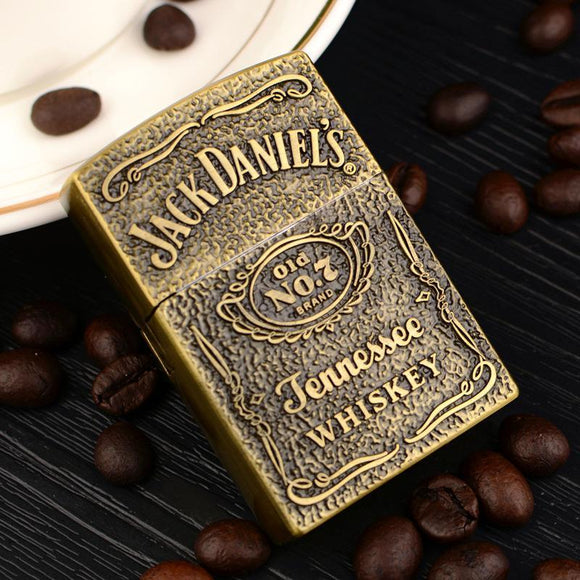 🔥 💨  Tennessee Whiskey Flip Lighter Gold and Silver Variations - Dope Smokes [variant_title], [option1],