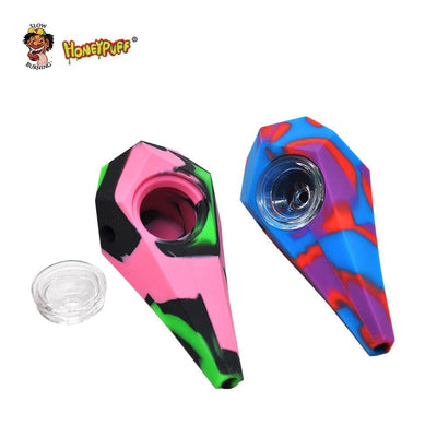 🔥 💨  Philosopher's Stone FDA Tested Silicone Smoking Herb Unbreakable Pipe - Dope Smokes [variant_title], [option1],