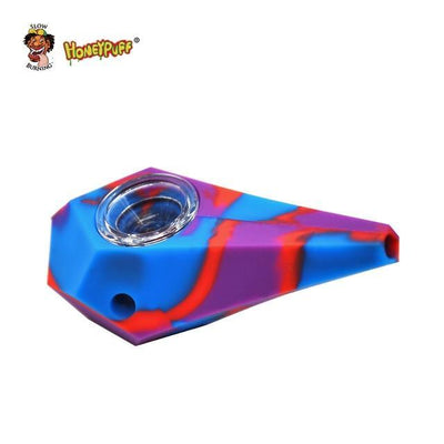 🔥 💨  Philosopher's Stone FDA Tested Silicone Smoking Herb Unbreakable Pipe - Dope Smokes China / BLUE-RED-PURPLE, China,