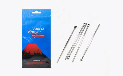 🐼 🐶 Quartz Banger 5 Pcs / lot Dabber Stainless Steel Wax Titanium Nail Tool - Dope Smokes [variant_title], [option1],