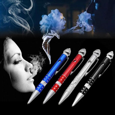 🐼 🐶 Portable Creative Smoking Ball-Point Pen Pipe - Dope Smokes [variant_title], [option1],