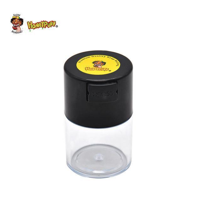 HONEYPUFF Acrylic Airtight Multi-Use Vacuum Seal Storage Container - Dope Smokes Quality Cannabis Products