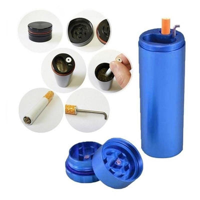 🔥 💨  1PCS One Hitter and Travel Kit and Case for Bud with Grinder - Dope Smokes [variant_title], [option1],