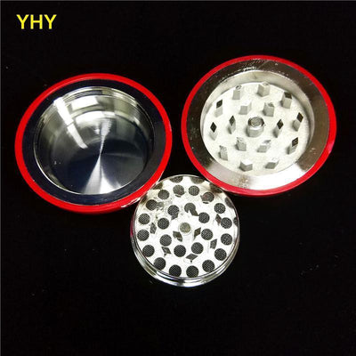 🐼 🐶 DeadPool 3 Layer Herb Spice Grinder and Tobacco Grinders - Dope Smokes [variant_title], [option1],