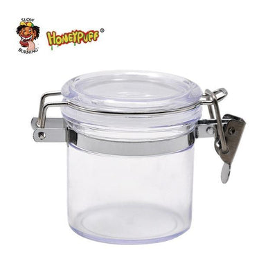 🔥 💨  Transparent Acrylic Airtight Jar 2.17 Inches Multi-Use Air Seal - Dope Smokes Default Title, Default Title,