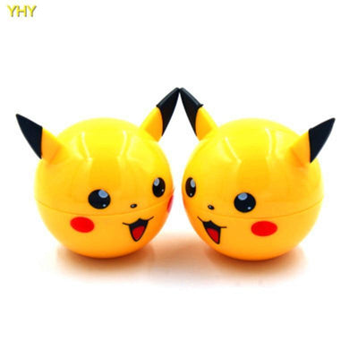 🐼 🐶 3 Layer Pikachu Herb Grinder - Dope Smokes [variant_title], [option1],