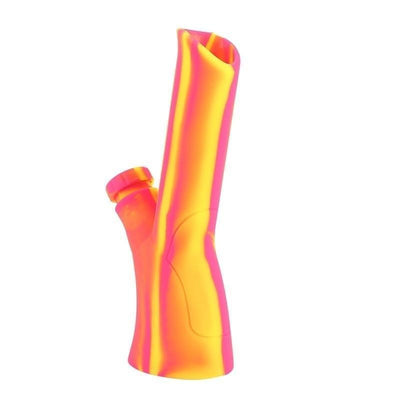 🔥 💨  240mm Foldable Silicone Non-toxic Unbreakable Bong - Dope Smokes yellow / As the description, yellow,