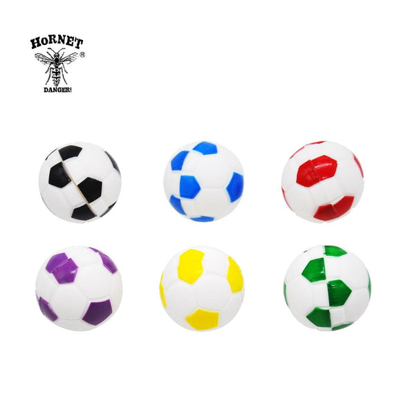 🔥 💨  Football (Soccer ball) Ball Wax Dab Oil 14ML Unbreakable FDA Silicone Wax Container - Dope Smokes [variant_title], [option1],