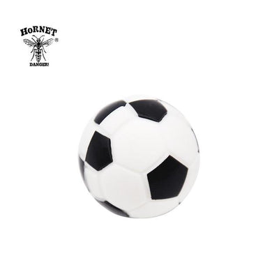 🔥 💨  Football (Soccer ball) Ball Wax Dab Oil 14ML Unbreakable FDA Silicone Wax Container - Dope Smokes China / Black, China,