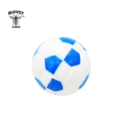🔥 💨  Football (Soccer ball) Ball Wax Dab Oil 14ML Unbreakable FDA Silicone Wax Container - Dope Smokes China / Blue, China,