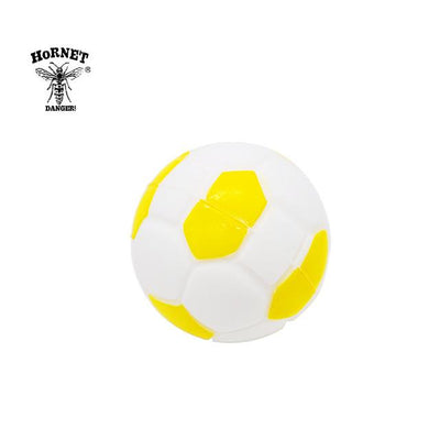 🔥 💨  Football (Soccer ball) Ball Wax Dab Oil 14ML Unbreakable FDA Silicone Wax Container - Dope Smokes China / Gold, China,