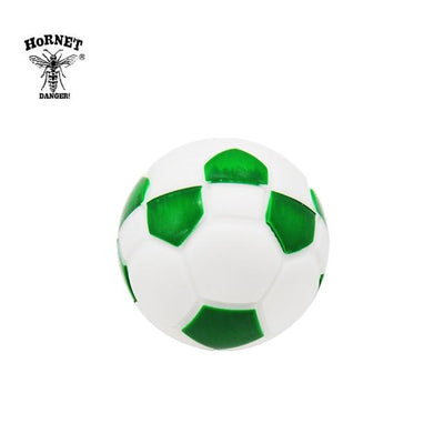 🔥 💨  Football (Soccer ball) Ball Wax Dab Oil 14ML Unbreakable FDA Silicone Wax Container - Dope Smokes China / Green, China,