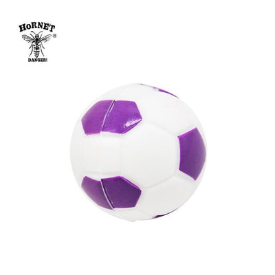 🔥 💨  Football (Soccer ball) Ball Wax Dab Oil 14ML Unbreakable FDA Silicone Wax Container - Dope Smokes China / Purple, China,