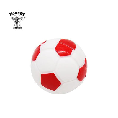 🔥 💨  Football (Soccer ball) Ball Wax Dab Oil 14ML Unbreakable FDA Silicone Wax Container - Dope Smokes China / Red, China,