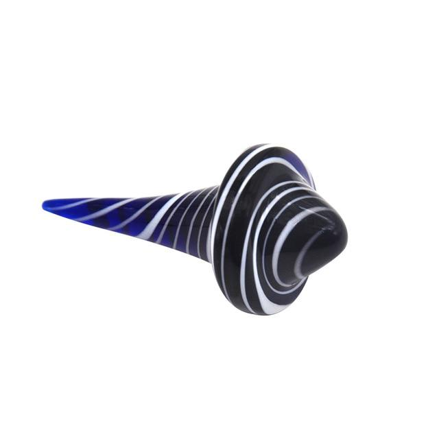 Gyro Swirl Glass Carb Dab Wax Concentrate Carb Cap Tool